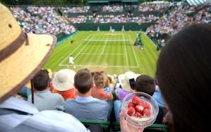 Wimbledon-morango